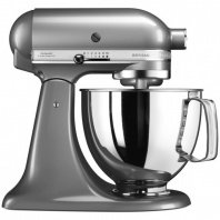 Миксер 4,8 л Kitchen Aid ARTISAN 5KSM125ECU серебристый
