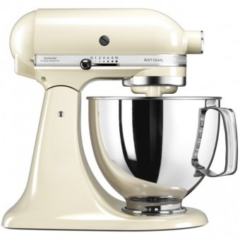 Миксер 4,8 л Kitchen Aid ARTISAN 5KSM125EAC кремовый